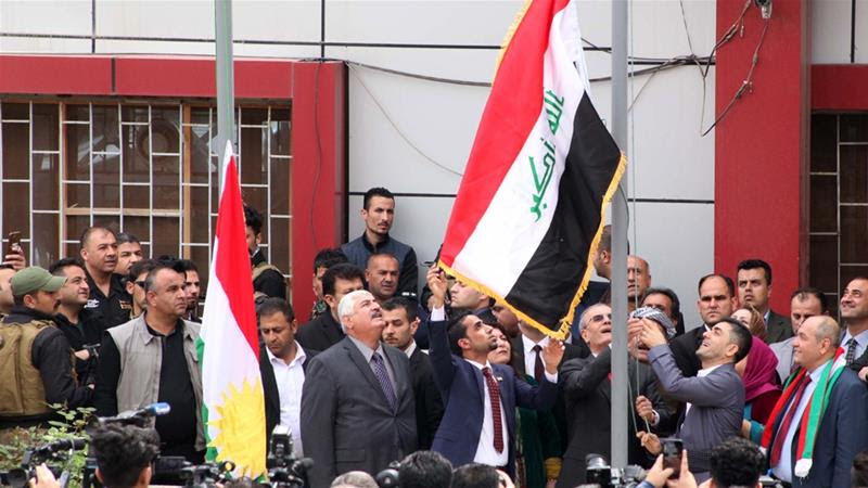 Iraq's parliament bans Kurdish flag in Kirkuk