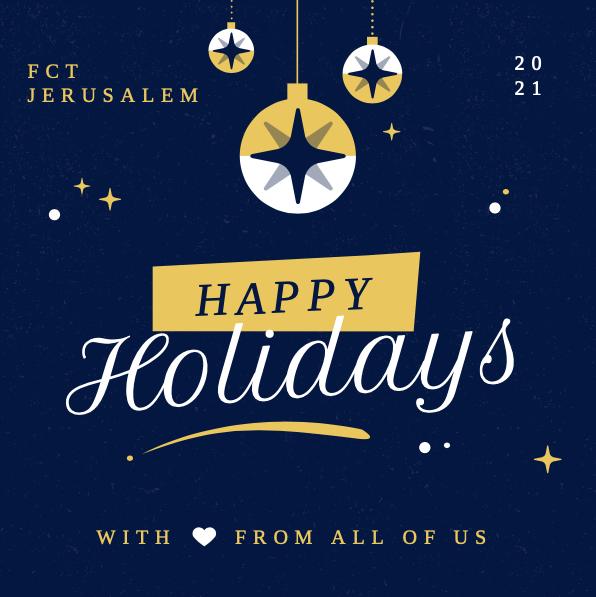 FCT Jerusalem end of year meeting (Abu Tor/Al-Thuri)